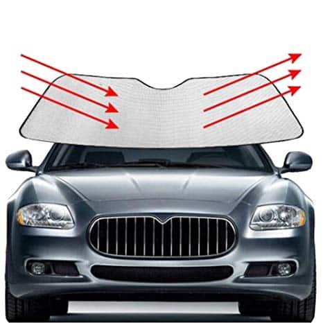 parasol delantero coche publicitario